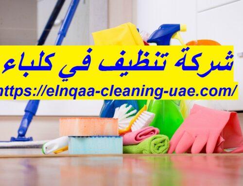 شركة تنظيف فى كلباء |0545667540| اسطورة التنظيف